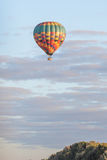 Hot air baloon over Bloemfontein Royalty Free Stock Image
