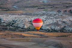 Hot Air Baloon over Cappadocia at sunrise. Royalty Free Stock Photo