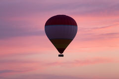 Hot Air Baloon over Cappadocia at sunrise. Turkey Stock Photos