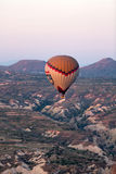 Hot Air Baloon over Cappadocia Royalty Free Stock Photos