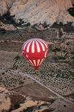 Hot Air Baloon over Cappadocia Stock Photography