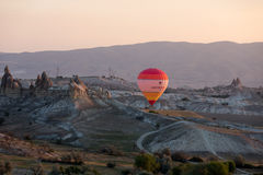 Hot Air Baloon over Cappadocia Royalty Free Stock Photography
