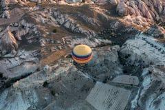 Hot Air Baloon over Cappadocia Stock Photography