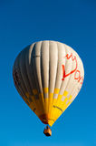 Hot air baloons in Cappadocia Turkey Stock Images