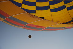 Ballooning at sunrise Royalty Free Stock Photos