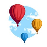 Hot Air Baloons Royalty Free Stock Photography
