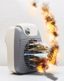 Hot air heater Stock Images