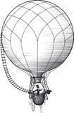 Hot air passenger Stock Image