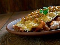 Hot Algerian Lasagna Stock Photography