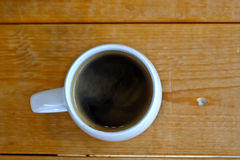Hot americano Coffee Royalty Free Stock Images