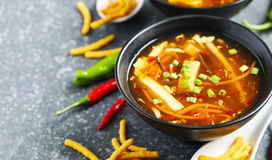 Free Hot And Sour Soup Stock Photography - 86136142