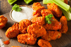 Free Hot And Spicy Boneless Buffalo Chicken Wings Stock Photos - 52490553