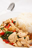 Hot And Spicy Food In Thai Style Royalty Free Stock Photos