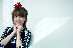 Hot angel Royalty Free Stock Photography