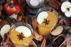 Hot apple cider Stock Photography
