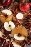 Hot apple cider Royalty Free Stock Image