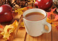 Hot apple cider Royalty Free Stock Images