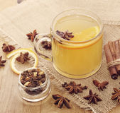 Hot Apple Cider Drink Royalty Free Stock Photography