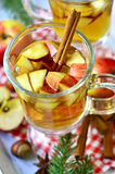 Hot apple cider. Royalty Free Stock Photography