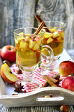 Hot apple cider. Royalty Free Stock Image