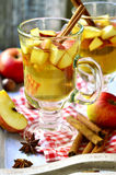 Hot apple cider. Royalty Free Stock Photos