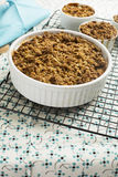 Hot Apple Crumble Stock Photography