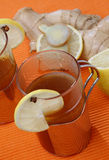 Hot apple tea Stock Images