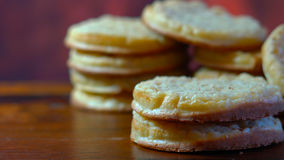 Hot Australian English style breakfast crumpets Stock Image