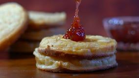Hot Australian English style breakfast crumpets Royalty Free Stock Photos