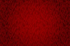 Red fire pattern. Hot background with beautiful vector red fire pattern Royalty Free Stock Image