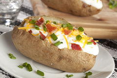 Hot Baked Potato Stock Photos