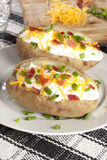Hot Baked Potato Royalty Free Stock Image