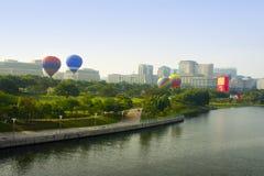Hot balloon 2012 Royalty Free Stock Photography