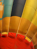 Hot balloon up close. Hot balloon pattern stock photography