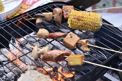 Hot barbecue Royalty Free Stock Photo