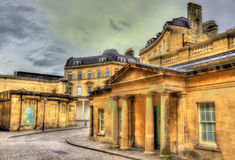 The Hot Bath in Bath town Stock Photography
