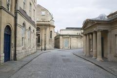Hot Bath Street, Bath, England Royalty Free Stock Photography