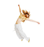 Hot Beautiful dancer Stock Photography
