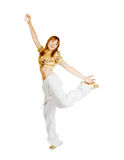 Hot Beautiful dancer royalty free stock image