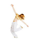 Hot Beautiful dancer Stock Photo