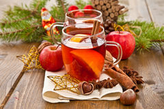 Hot beverage for christmas Stock Image