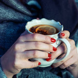 Hot beverage for cold day Stock Photography