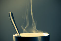 Hot beverage in a mug Stock Photography