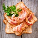 Hot big sandwich Stock Images
