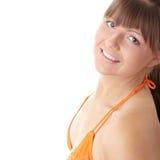 Hot big strong bikini model Royalty Free Stock Images