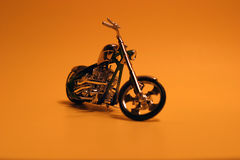 Hot bike. Toy bike Royalty Free Stock Photography