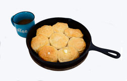 Hot Biscuits Royalty Free Stock Image