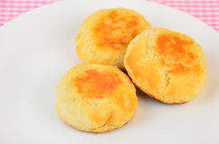 Hot Biscuits Stock Image