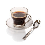 Hot black coffee Royalty Free Stock Photos
