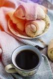 Hot black coffee Stock Photo